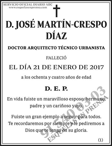 José Martín-Crespo Díaz